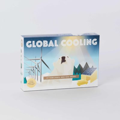 Front view of the Global Cooling game