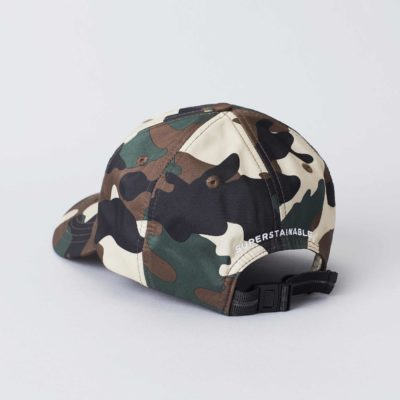 Packshot back view of the Superstainable Camo Cap