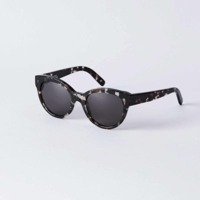 Front view of the DICK MOBY® ORY Crystal Havana sunglasses