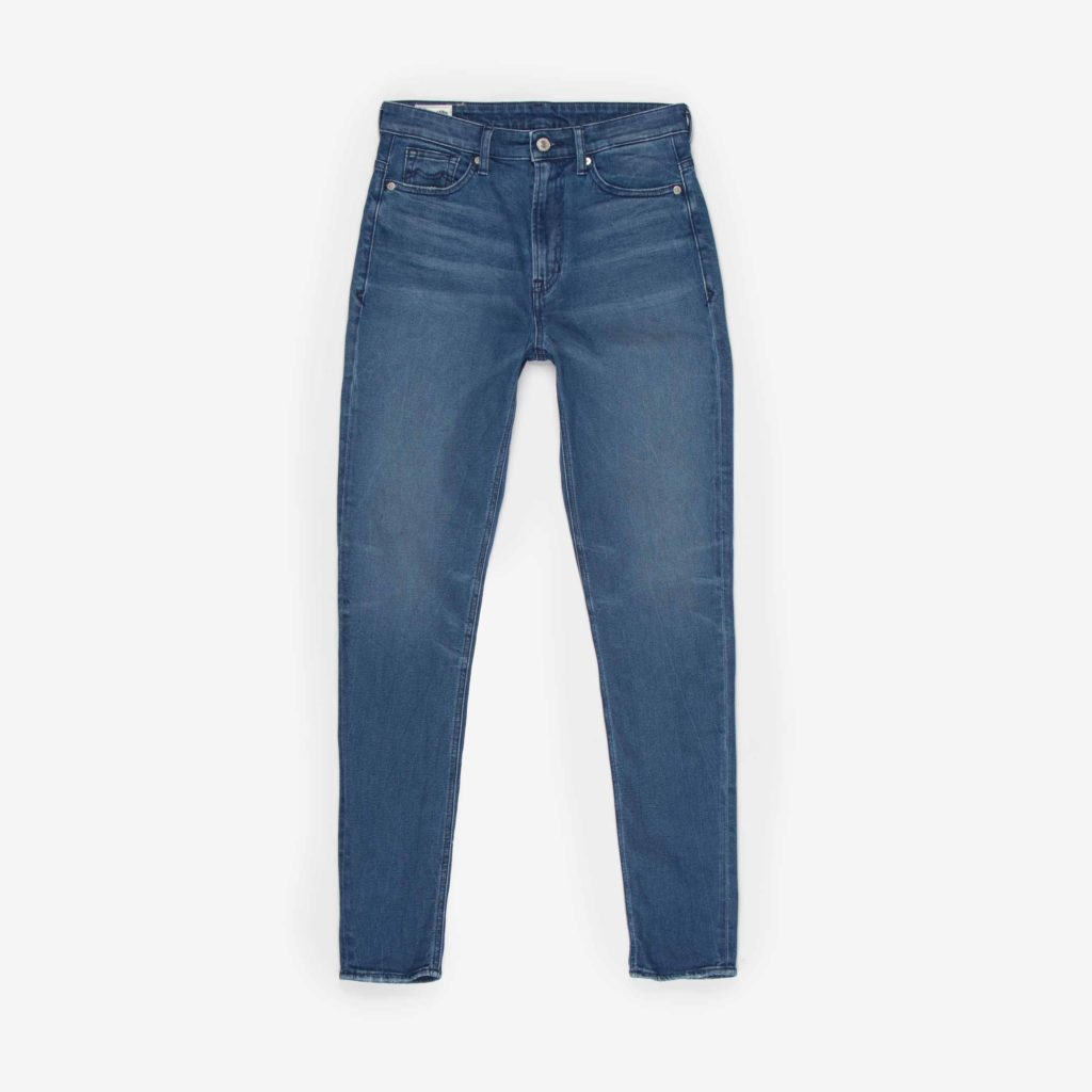 Front view of the Kings of Indigo Christina High jeans